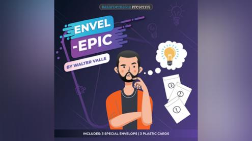 Envel - Epic (Gimmicks and Online Instructions) by Bazar de Magia - Trick