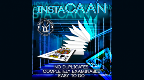 instaCAAN RED (Gimmicks and Online Instruction) by Joel Dickenson - Trick