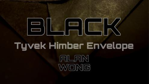 Tyvek Himber Envelopes BLACK (10 pk.) by Alan Wong - Trick