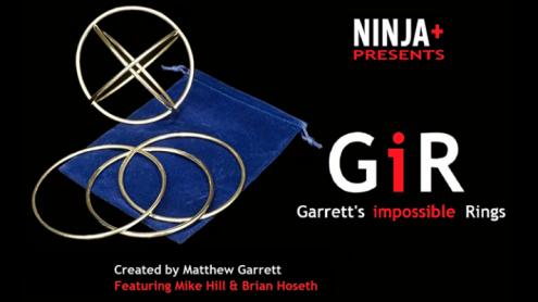 GIR Ring Set (Gimmick and Online Instructions) by Matthew Garrett - Trick