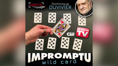 Impromptu Wild Card Gimmicks and Online Instructions) by Dominique Duvivier   - Trick
