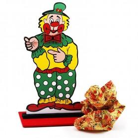 Clown che ha perso la testa