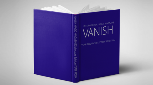 VANISH MAGIC MAGAZINE Collectors Edition Year Four (Hardcover) by Vanish Magazine - Book