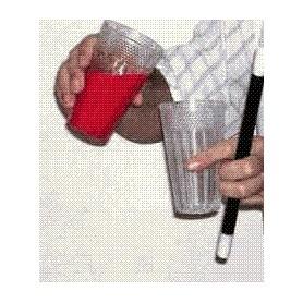 Bicchiere con mezzo fondo Deluxe - Plastica