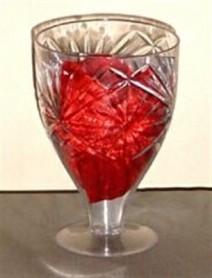Mirror Wine Glass