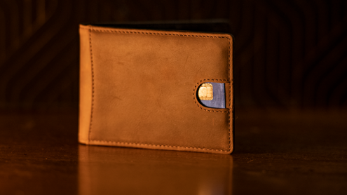 FPS Wallet Brown (Gimmicks and Online Instructions) by Magic Firm - Trick