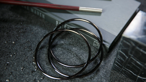 """4"""" Linking Rings (Space Grey) by TCC - Trick"""