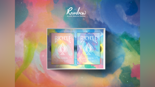 Bicycle Rainbow Set Playing Cards by TCC