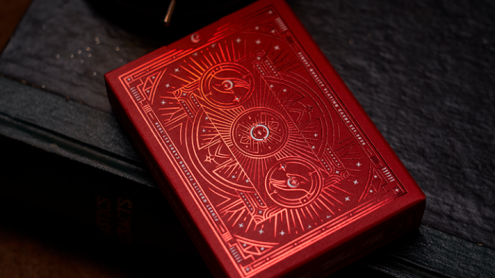 Solokid Ruby Playing Cards by Bocopo