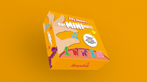 Animinimals (Gimmicks and Online Instructions) by Billy Damon - Trick