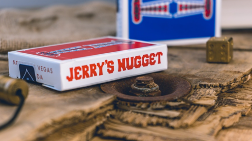 Jerry's Nuggets Hofzinser Card (Blue) by The Hanrahan Gaff Company
