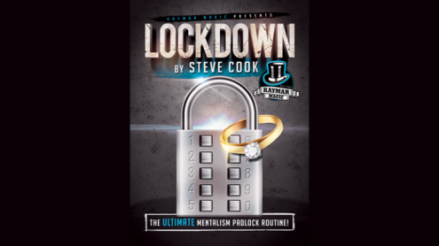 LOCKDOWN (Gimmick and Online Instructions) by Steve Cook and Kaymar Magic - Trick