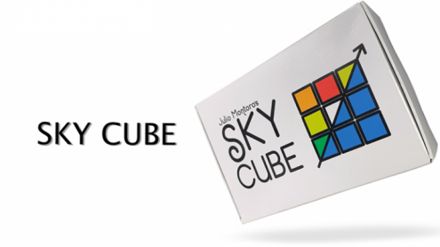 SKY CUBE (Gimmicks and online Instructions) by Julio Montoro - Trick