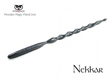 Nekkar- Bacchetta Magica by Strixmagic - Legno