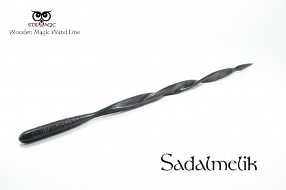 Sadalmelik - Magic Wand by Strixmagic - Wood