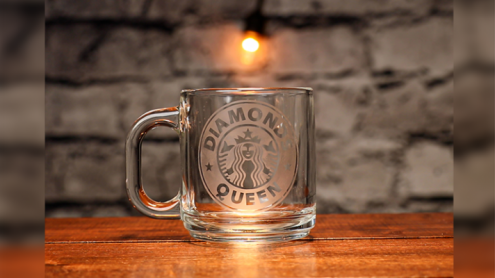 Engraved (Starbucks QD Gimmick and Online Instructions) by James Kellogg  - Trick