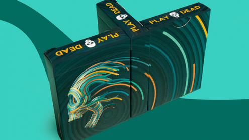 Play Dead V2 Playing Cards by Riffle Shuffle