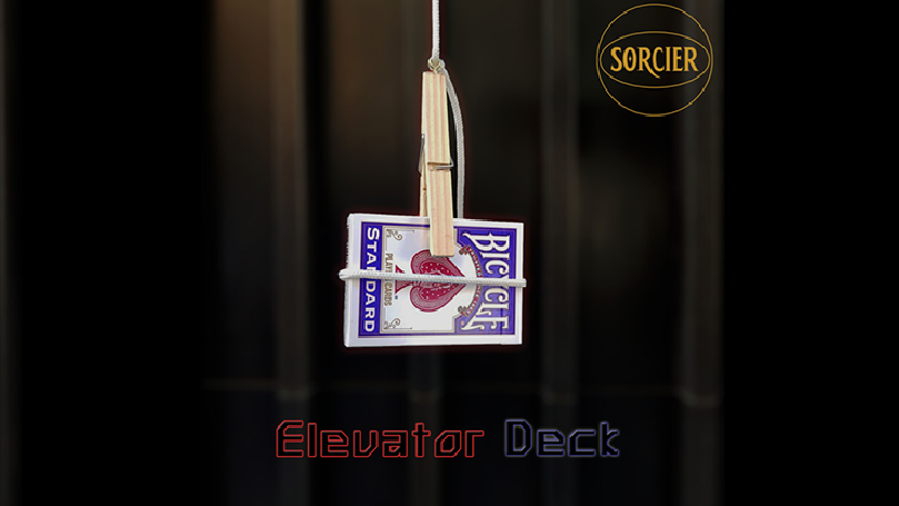 Elevator Deck RED by Sorcier Magic