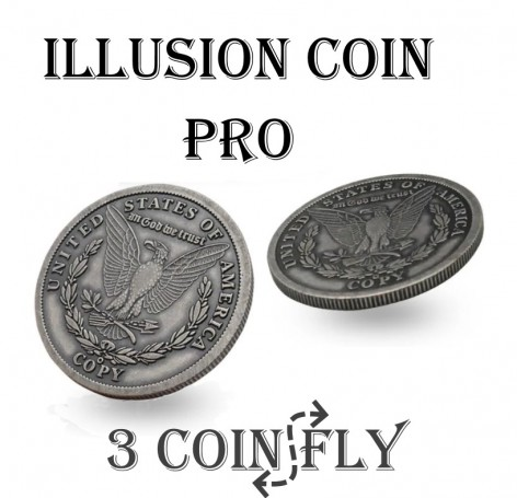 Illusion Coins Pro Model - Three Coins Fly