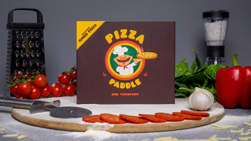 Pizza Paddle Supreme (Gimmicks and Online Instructions) by Rob Thompson - Trick