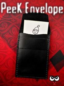 Peek Envelope (in Vera Pelle) by StrixMagic