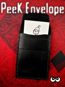 Peek Envelope (Leather) by StrixMagic