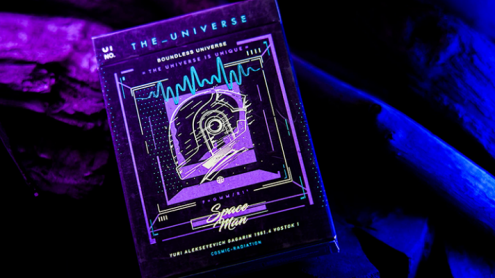 The Universe Space Man Edition Playing Cards by Jiken & Jathan