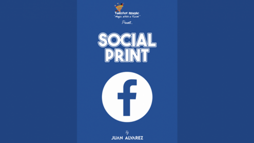 SOCIAL PRINT by Juan Alvarez and Twister Magic (Leo DiCaprio) - Trick
