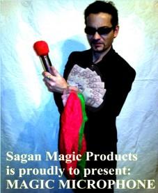 MAGIC MICROPHONE by SAGAN MAGIC