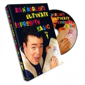 Ultimate Impromptu Magic Vol 1 by Dan Harlan - DVD