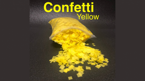 Confetti YELLOW Light by Victor Voitko (Gimmick and Online Instructions) - Trick