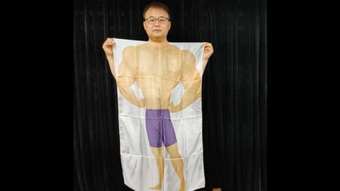 Headless Silk (Body Man) by JL Magic - Trick