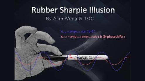 Rubber Sharpie Illusion by Alan Wong & TCC - Trick