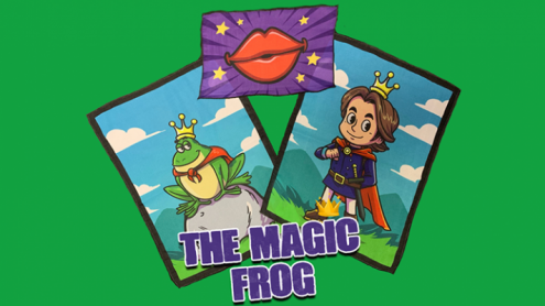 THE MAGIC FROG by Magic and Trick Defma - Trick