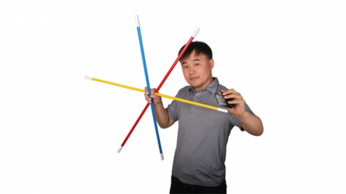 The Rising Cane (Multi-colors) - by JL Magic - Trick