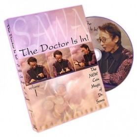 The Doctor Is In - The New Coin Magic of Dr. Sawa Vol 1 - DVD
