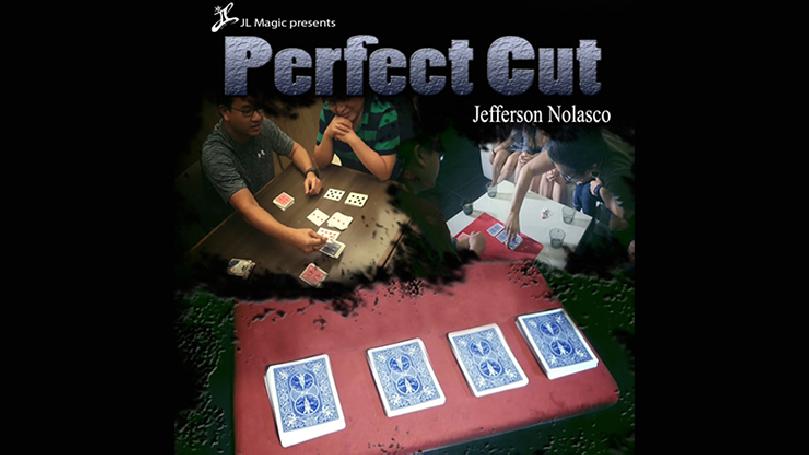 Perfect Cut Gimmick Deck by Jeff Nolasco and JL Magic - Trick