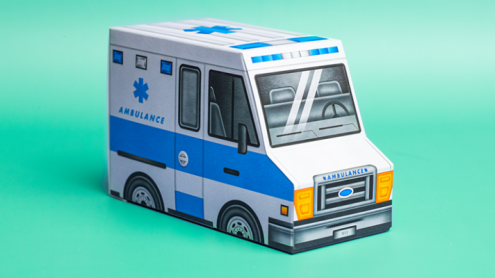 Ambulance (half-brick truck) Playing Cards by Riffle Shuffle