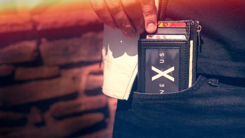 Nexus Wallet (Gimmick & Online Instructions) by Javier Fuenmayor - Trick