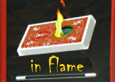In Flame (Bicycle Blue Back) - Trick