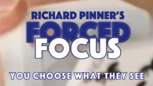 FORCED FOCUS RED by Richard Pinner - Trick