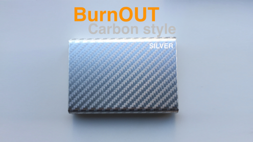 BURNOUT 2.0 CARBON SILVER by Victor Voitko (Gimmick and Online Instructions) - Trick