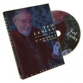 Ted Lesley Cabaret Magic Volume 2  - DVD