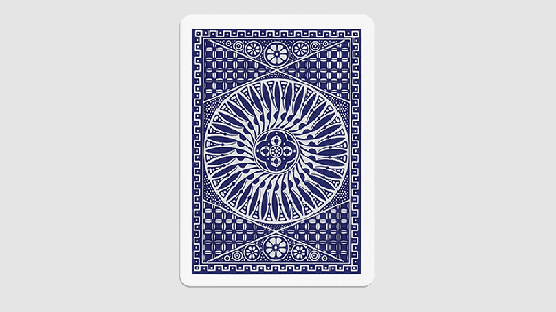 Tally Ho Circle Back Gaff Pack Blue (6 Cards) by The Hanrahan Gaff Company