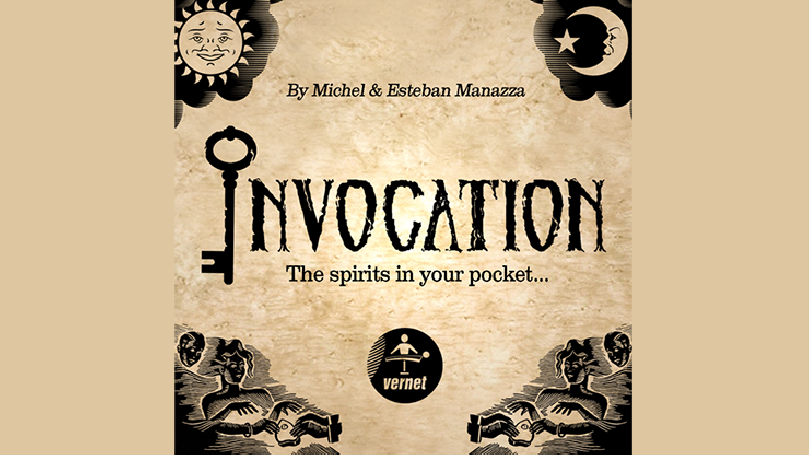 Invocation (Gimmicks and Online Instructions) by Michel and Esteban Manazza - Trick
