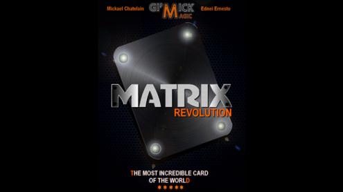 MATRIX REVOLUTION Blue by Mickael Chatelain  - Trick