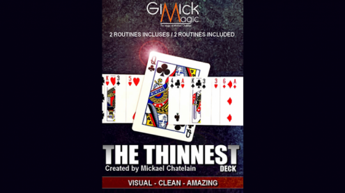 THE THINEST DECK by Mickael Chatelain - Trick