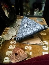 Snake's Bite Coin Purse - Borsellino per monete - Pelle