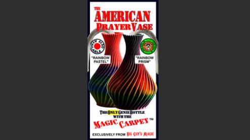 The American Prayer Vase Genie Bottle RAINBOW PRISM by Big Guy's Magic- Trick