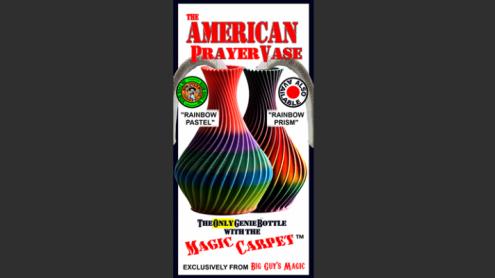 The American Prayer Vase Genie Bottle RAINBOW PASTEL by Big Guy's Magic- Trick